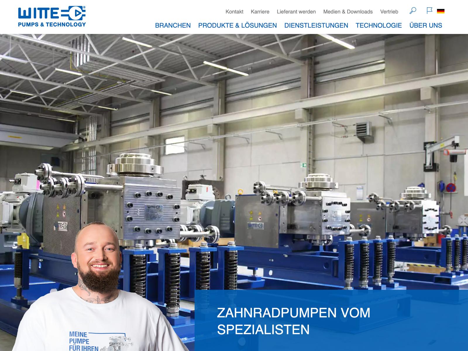 Tech-Support Typo3 und Witte GmbH