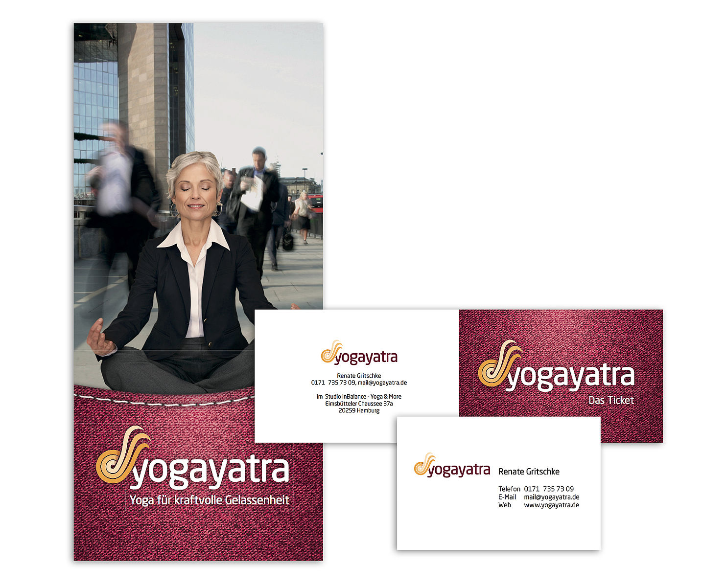 Corporate Design Yoga Yatra