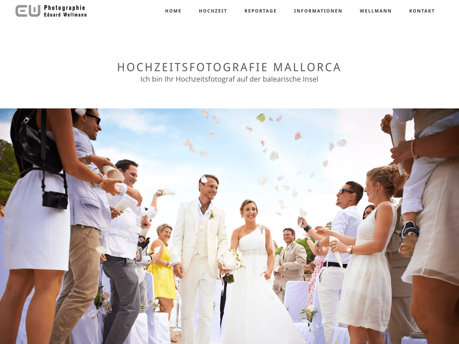 SEO und Webdesign Photografie Wellmann