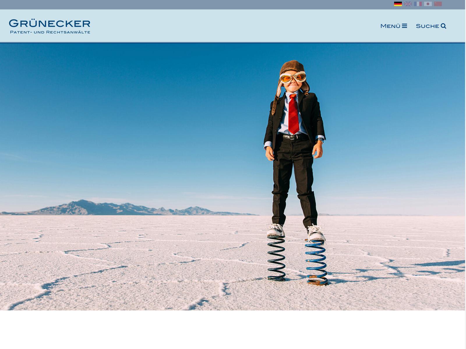 Typo3 Tech-Support für Rechtsanwälte Grunecker