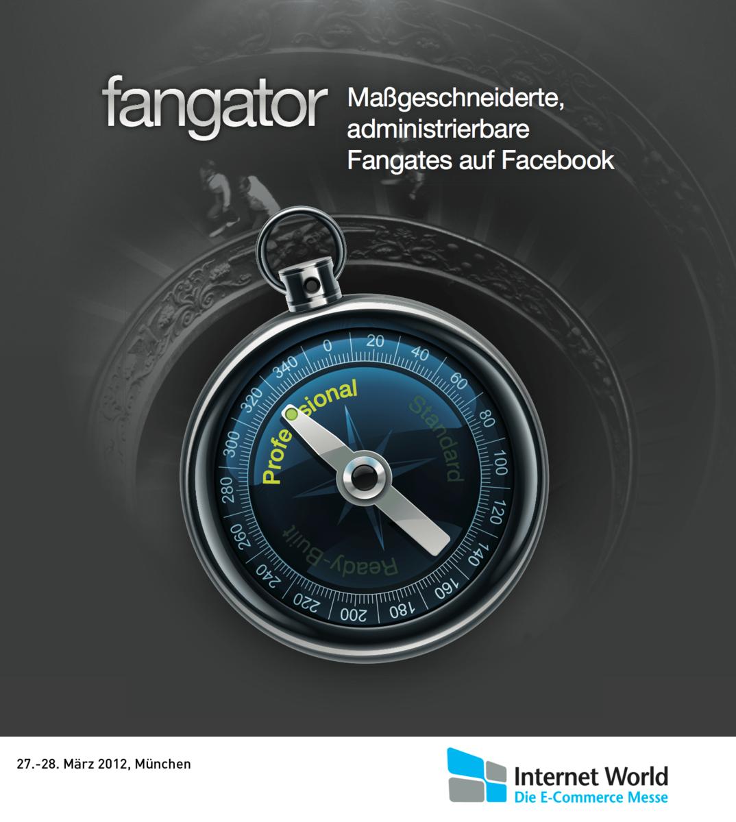 Fangator auf der Messe NEXT 2012 Berlin  / 8. und 9. Mai 2012