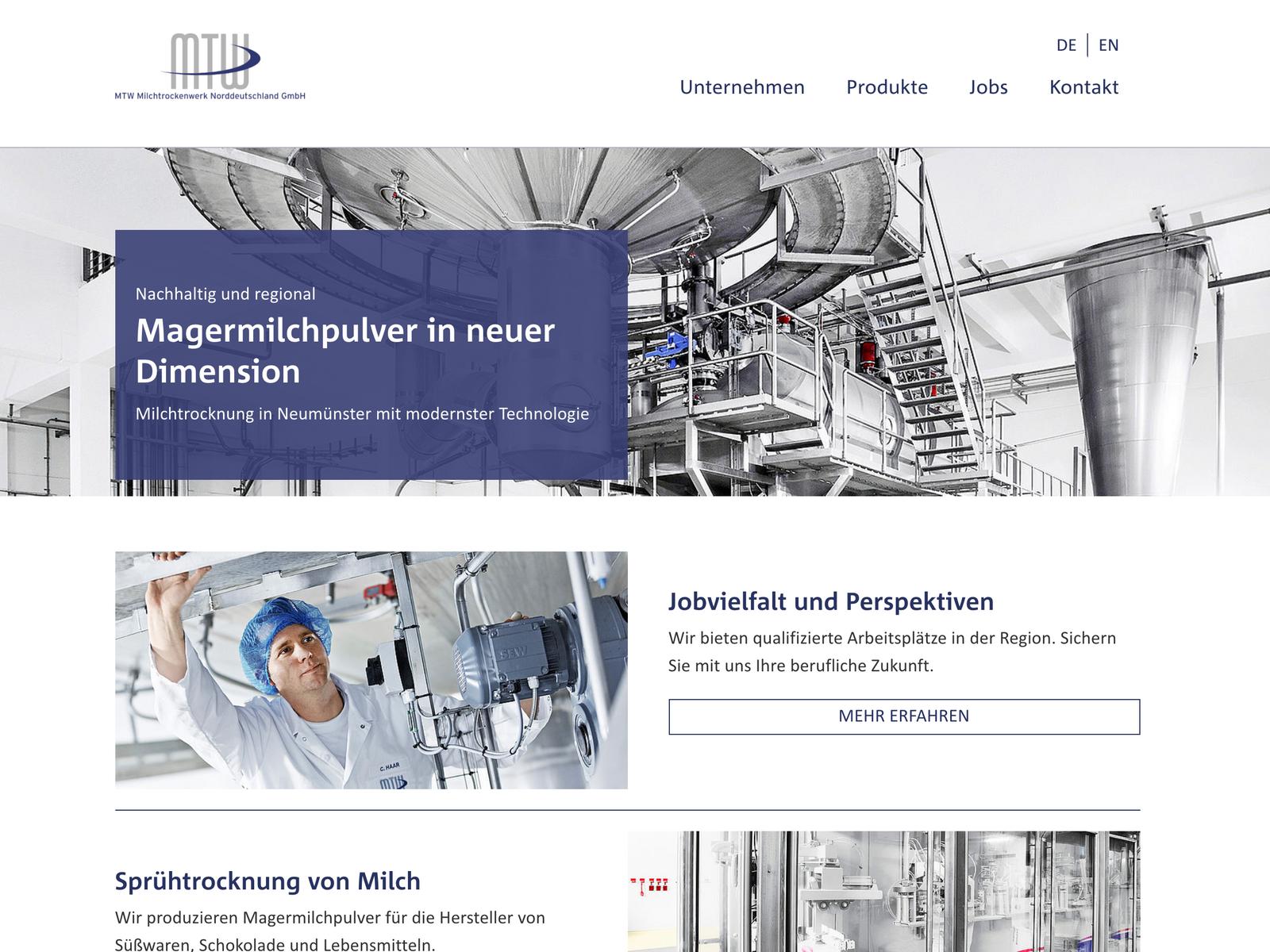 Typo3-Entwicklung MTW GmbH