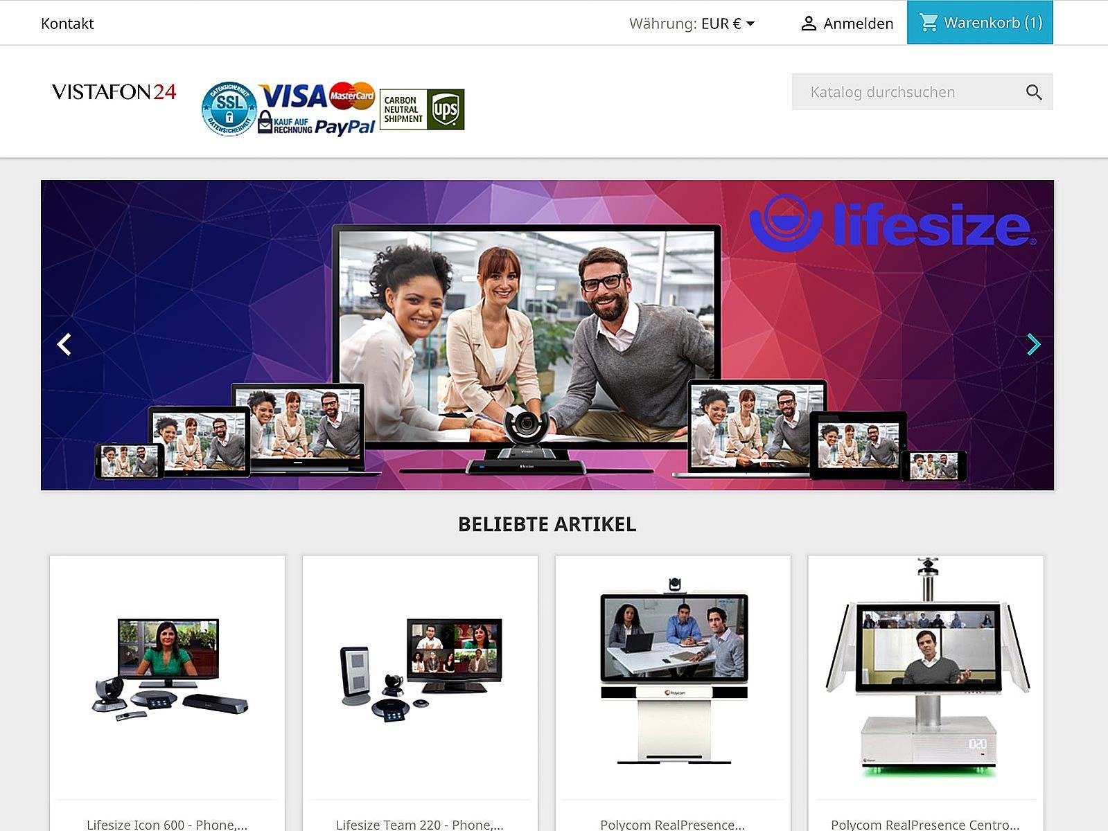 Prestashop-Optimierung und Google Adwords/Shopping für Vistafon24