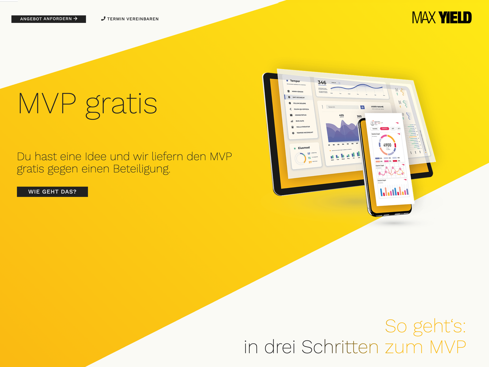 MVP gratis - Der Booster für Start-Ups und Service/Produkt-Entwicklung