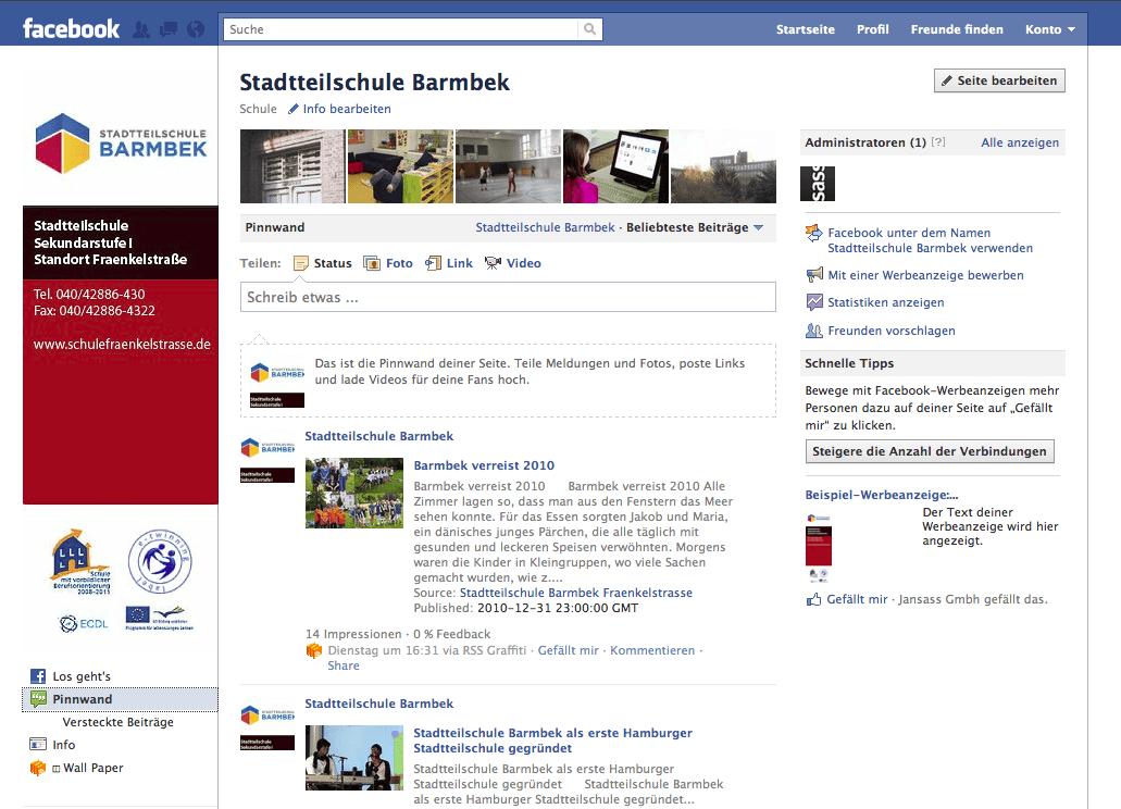 Social Marketing für die Stadtteilschule Barmbek Fraenkelstrasse