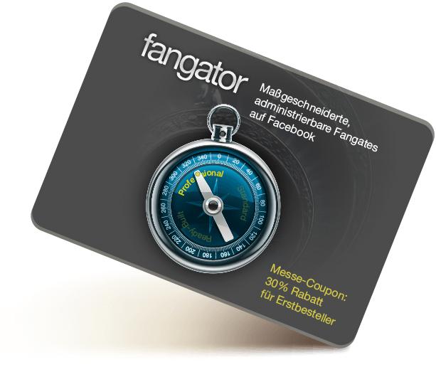 Fangator Coupons als Facebook-Demo und Installer verfügbar