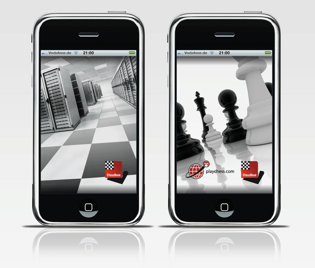 Chessbase / Playchess.com entwickelt zwei neue Apps für Schachspieler