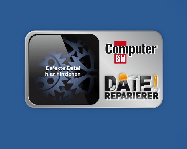 GUI-Design: ComputerBILD startet Datei-Reparierer