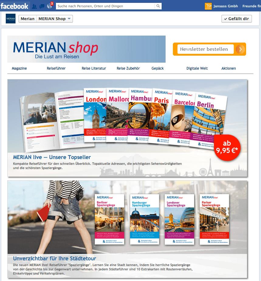 Merian / Jahreszeitenverlag bauen Digitalstrategie aus mit Fangator ShopDock