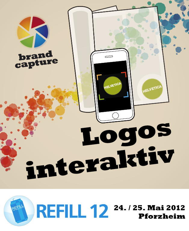 BrandCapture auf der Messe Refill 12- The Brand Event in Pforzheim am 24. und 25. Mai 2012