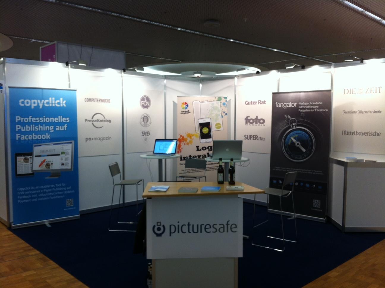 Fangator auf der Messe Internet World 2012 München / 27. und 28. März 2012