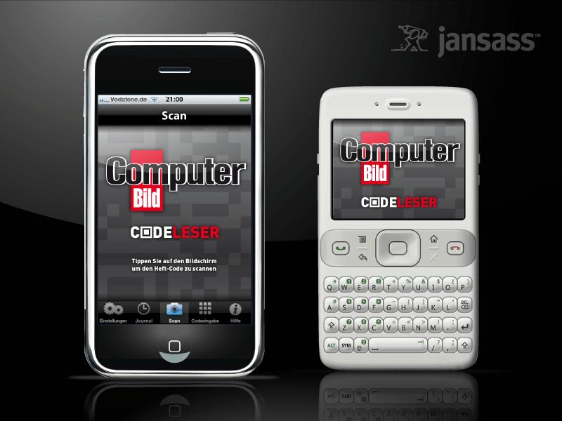 Neue App: Computer BILD Codeleser für iPhone, Symbian und Android