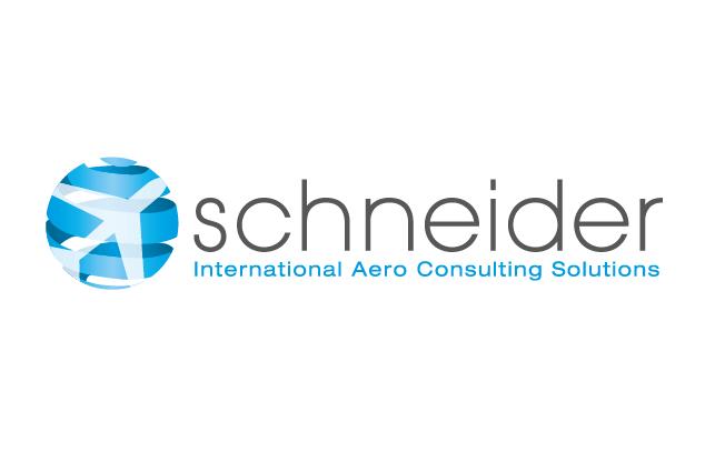 Logo-Design Schneider - International Aero Consulting Solutions