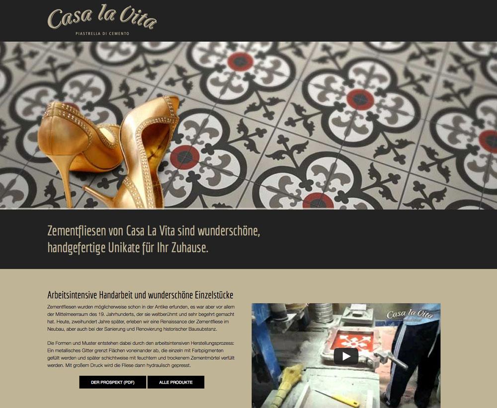 Responsive Webdesign auf Wordpress für Casa La Vita