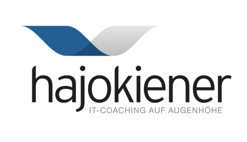 Logo-Design hajokiener - IT-Coaching auf Augenhöhe
