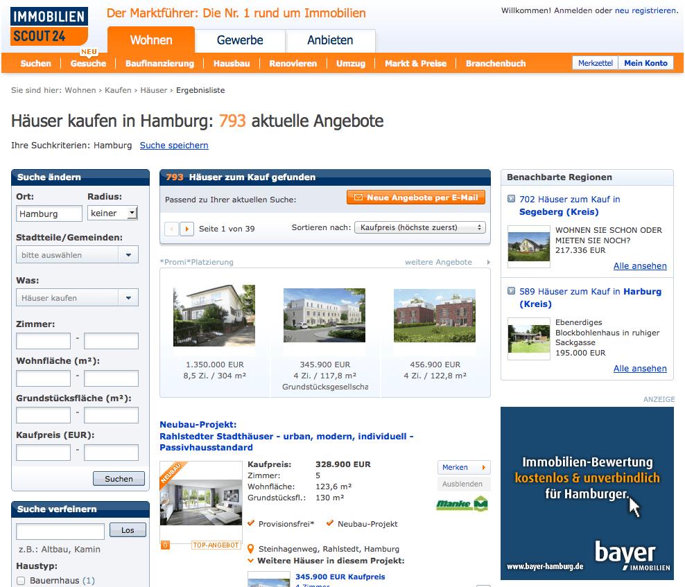 Flash-Ads für Dipl. Kaufmann Bayer