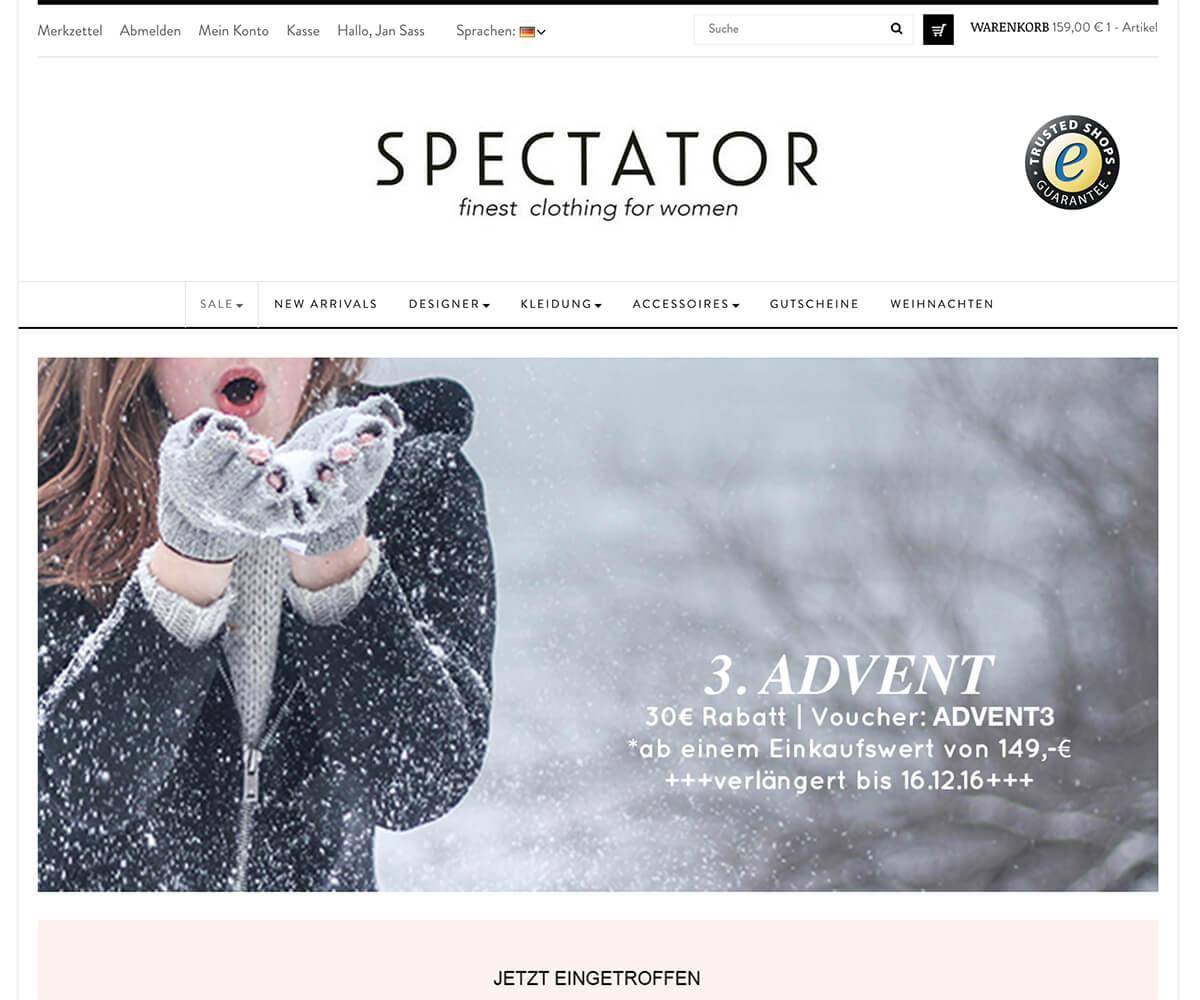 Prestashop-Entwicklung und Digital Marketing Spectator GmbH