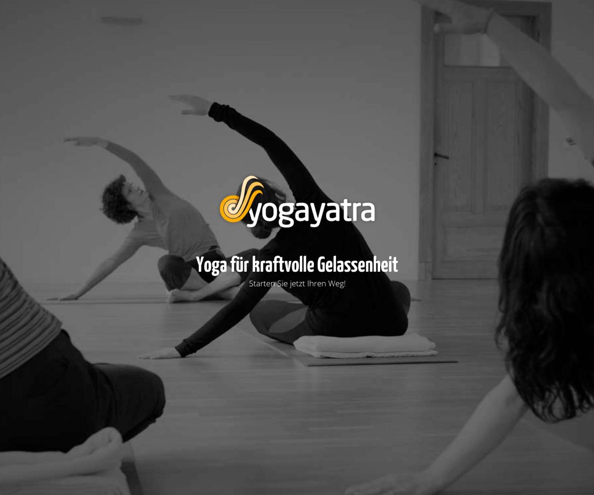 WordPress Entwicklung und Design für YogaYatra