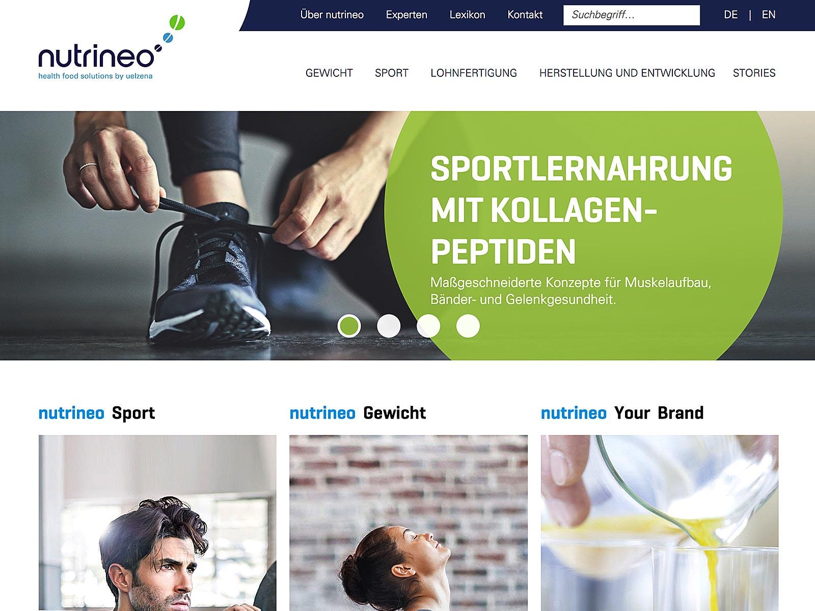 Typo3-Relaunch für Nutrineo