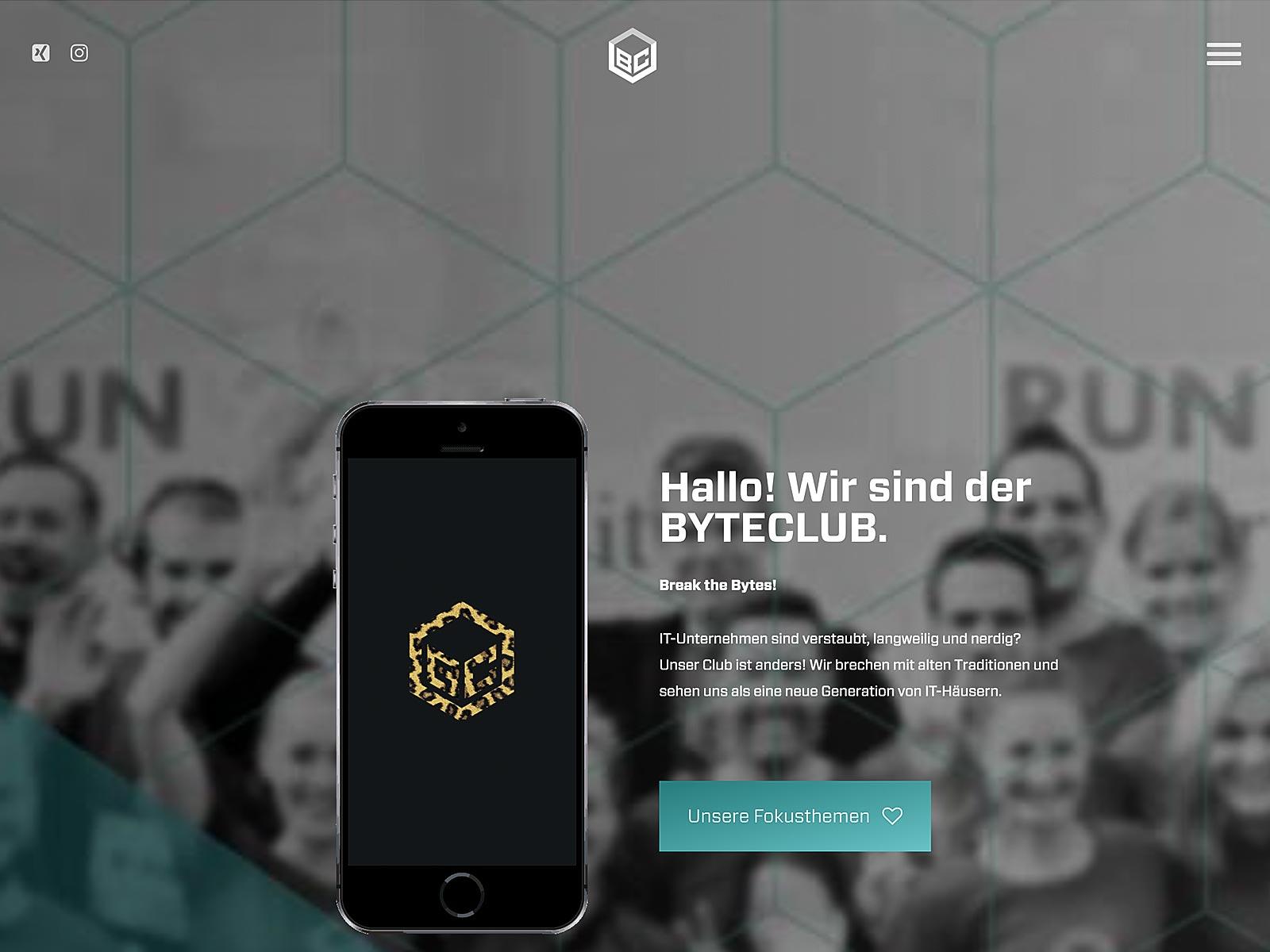 Wordpress-Support und Wartungsvertrag Byteclub GmbH