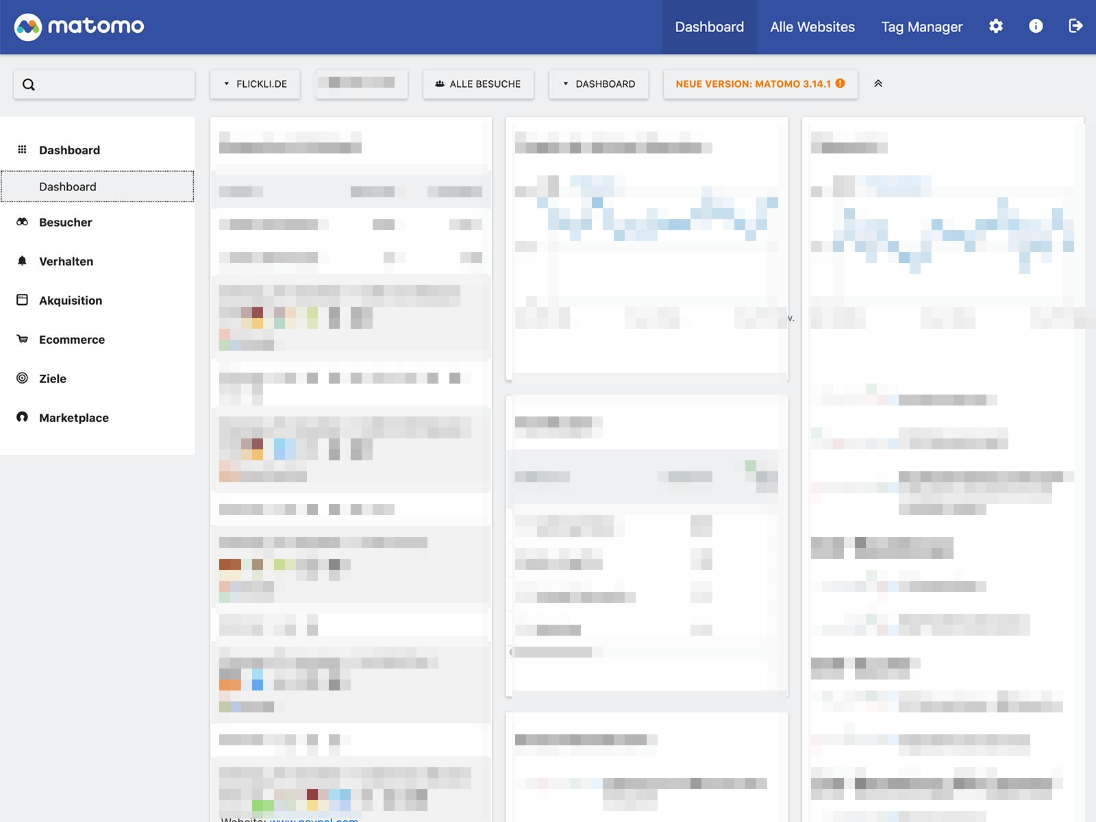 Datenschutz-konforme Matomo-Integration