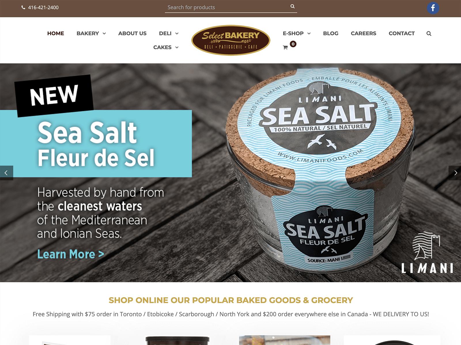 SEO + SEA Strategie für Greek Food Shop (Canada)