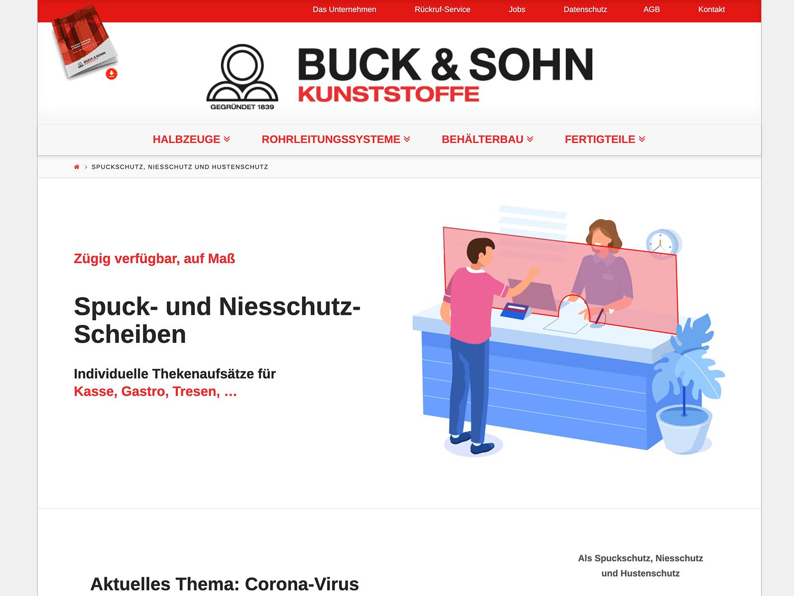 Adhoc Adwords-Kampagne Buck-Sohn Kunststoffe