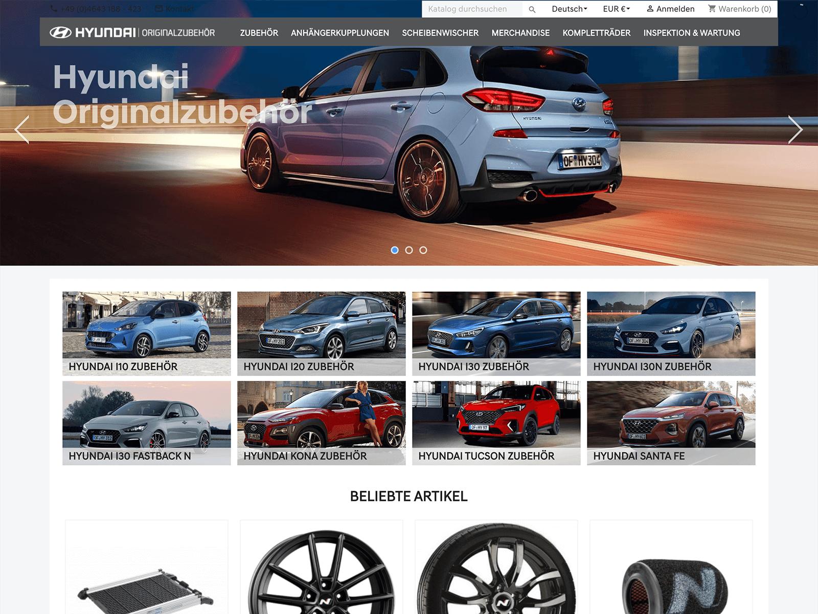 Prestashop Upgrade und Tech-Support für Hyundai Lorenzen GmbH