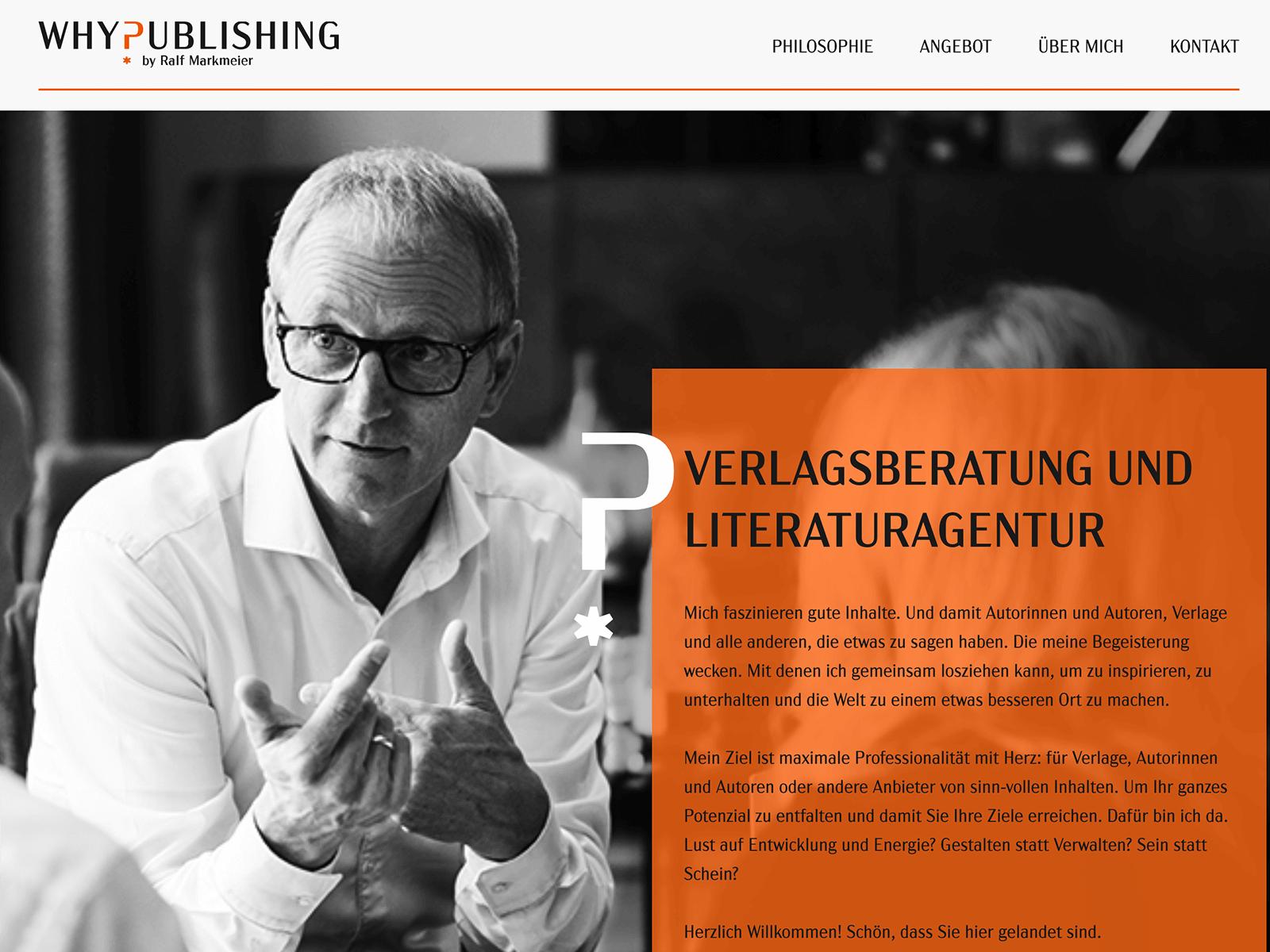 Wordpress Technical Support und Wartung für Why-Publishing